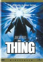 Go to record John Carpenter's The thing