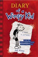 Diary of a wimpy kid. Greg Heffley's journal  Cover Image