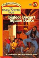 Go to record Bigfoot doesn't square dance