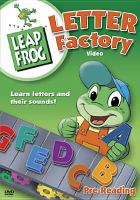 Letter factory. Book cover