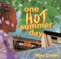 One hot summer day Book cover