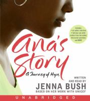 Go to record Ana's story a journey of hope
