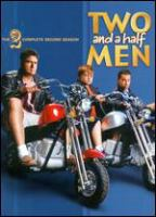 Two and a half men. The complete second season  Cover Image