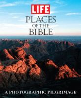 Places of the Bible : a photographic pilgrimage Book cover