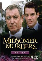 Midsomer murders. Set ten Book cover