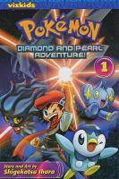 Pokémon : Diamond and Pearl adventure Book cover
