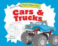 Go to record Pencil, paper, draw!. Cars and trucks