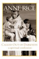 Called out of darkness : a spiritual confession  Cover Image