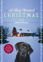 A dog named Christmas Book cover