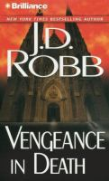 Vengeance in death Book cover