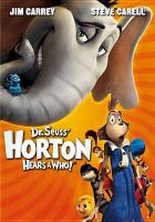 Dr. Seuss' Horton hears a Who! Cover Image