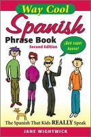 Go to record Spanish phrase book