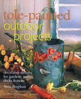 Tole-painted outdoor projects : decorative designs for gardens, patios, decks & more Book cover