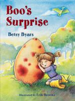 Boo's surprise Book cover