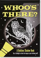 Whoo's there? : a bedtime shadow book Book cover