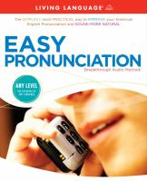 Go to record Easy pronunciation [breakthrough audio method!].