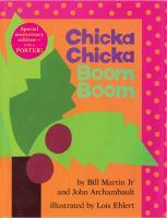 Chicka chicka boom boom Book cover