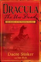 Go to record Dracula : the un-dead
