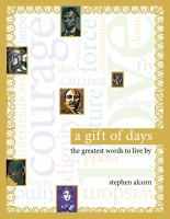 Go to record A gift of days : the greatest words to live by