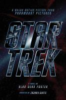 Star Trek a novel  Cover Image