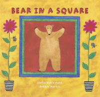 Bear in a square Book cover