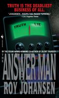 The answer man  Cover Image
