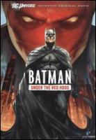 Batman. Under the red hood Book cover