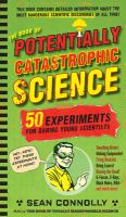 The book of potentially catastrophic science Book cover