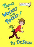 There's a wocket in my pocket! Book cover