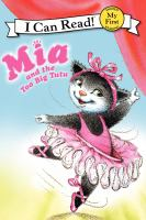 Mia and the too big tutu Book cover