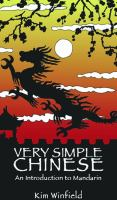 Go to record Very simple Chinese : an introduction to Mandarin : langua...