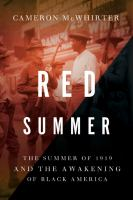 Go to record Red summer : the Summer of 1919 and the awakening of Black...