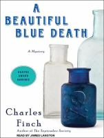 Go to record A beautiful blue death : a mystery