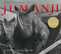 Jumanji by written and illustrated by Chris Van Allsburg.