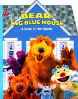Go to record Bear's Big Blue House : a book of first words