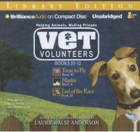 Go to record Vet volunteers. Books 10-12