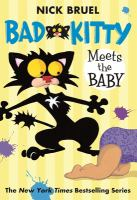 Bad kitty meets the baby  Cover Image