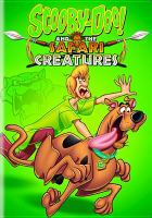 Scooby Doo and the safari creatures Book cover