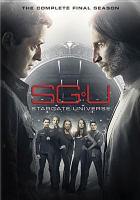 SGU, Stargate universe. The complete final season Cover Image