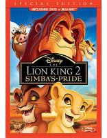 The Lion King 2 Simba's pride Book cover