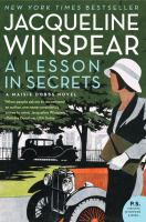 A lesson in secrets : a Maisie Dobbs novel Book cover