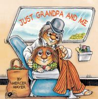 Just grandpa and me Book cover