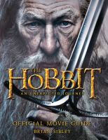 The hobbit : an unexpected journey : official movie guide  Cover Image