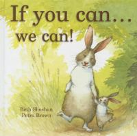 If you can--- we can!   Cover Image