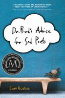 Dr. Bird's advice for sad poets  Cover Image