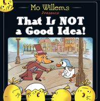 That is not a good idea! Book cover
