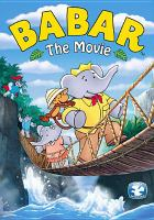Babar the movie Book cover