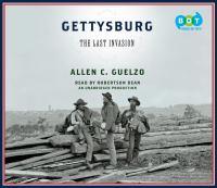 Go to record Gettysburg the last invasion