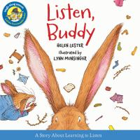 Listen, Buddy Book cover