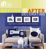 Before & after decorating. Book cover